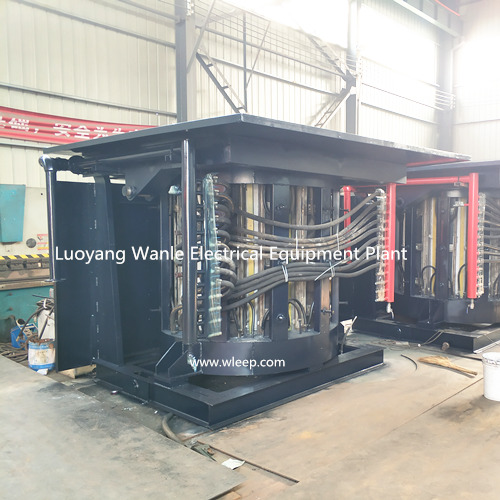 5T Steel Shell IF Induction Steel Melting Furnace